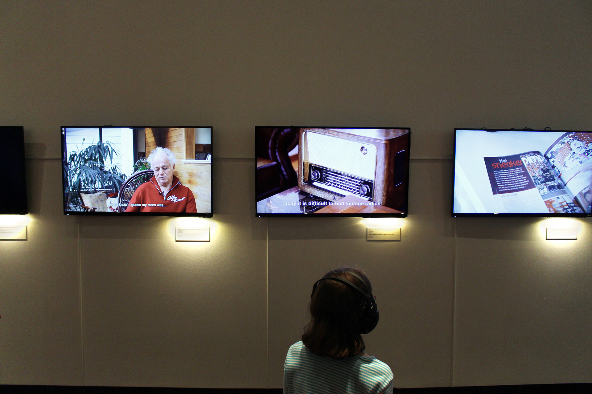 SIAT documentary videos in Museum of Vancouver exhibition
