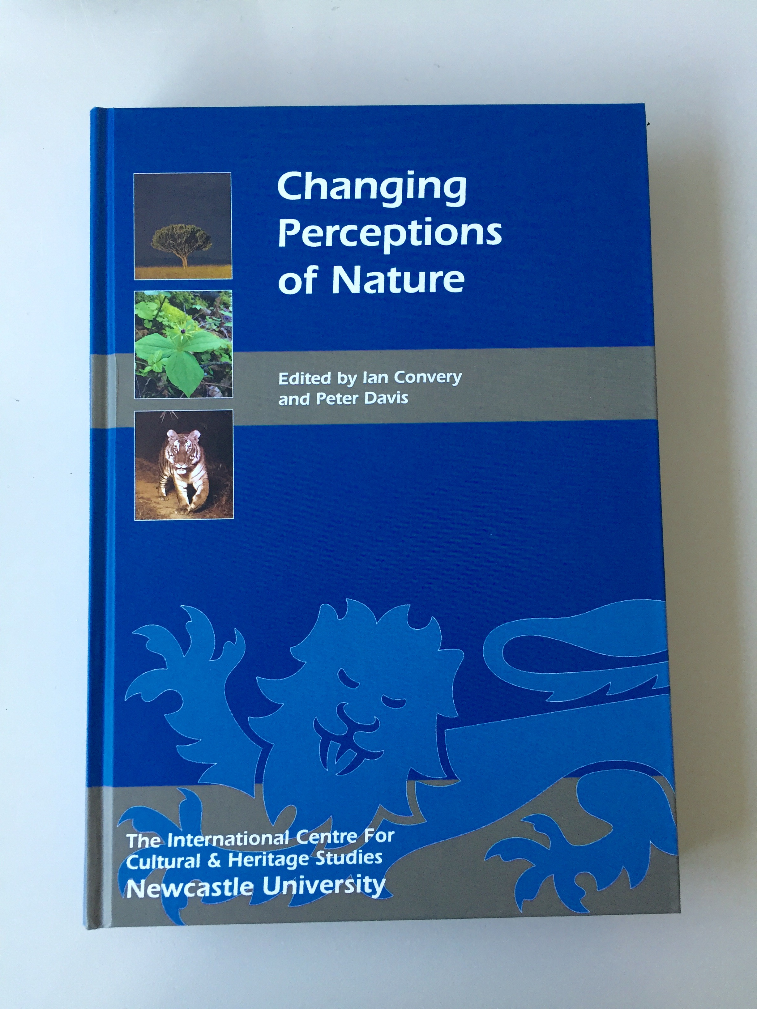 "New book chapter in ""Changing Perceptions of Nature"""