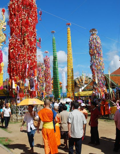 Salak Yom Festival, Lamphun, Thailand. Photo by Kate Hennessy, 2010.
