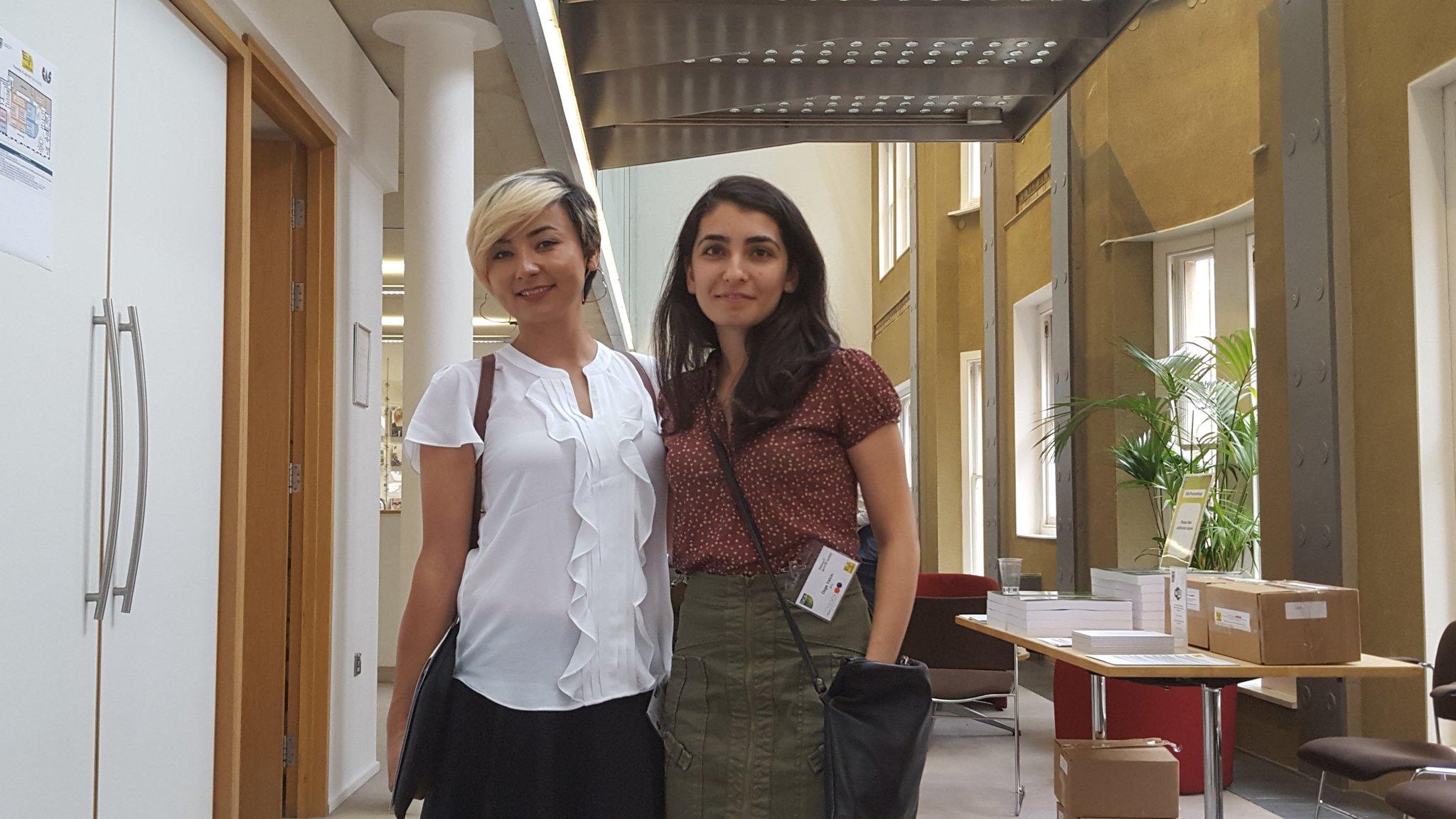 Aynur and Ozge at EVA London. Photo via EVA London