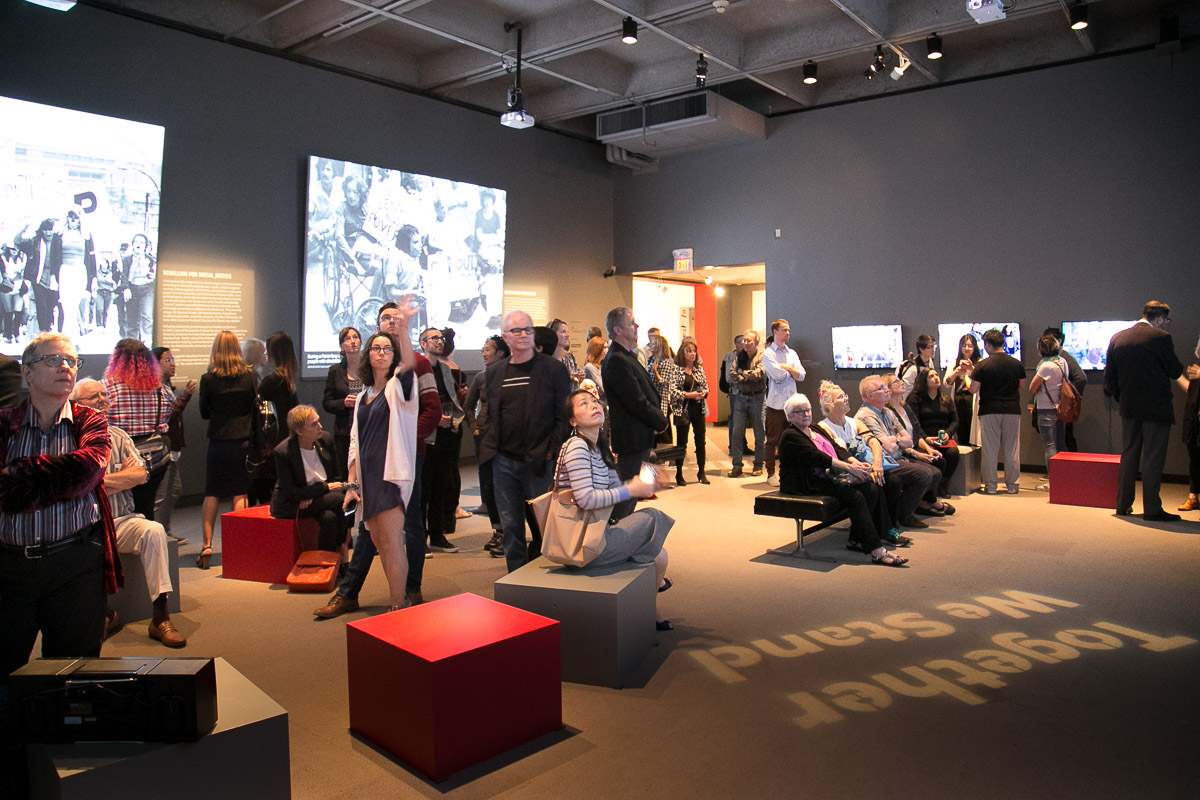 Student documentary videos exhibited in the Museum of Vancouver's 'City on Edge: A Century of Vancouver Activism', 2017.
