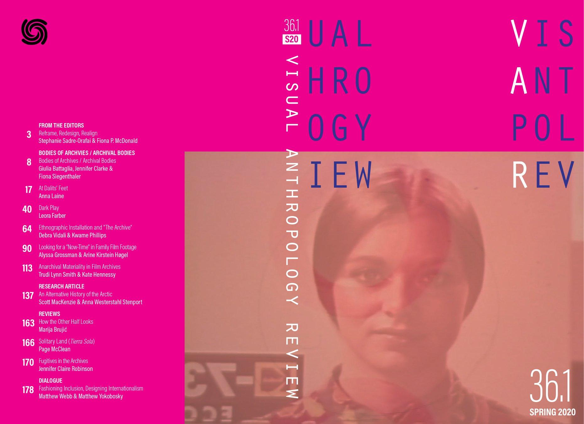VAR 36.1 2020 Cover