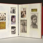 "Chantal Gibson's ""Historical In(ter)ventions: Altered Texts & Border Stories"". Photo by Rachel Topham 2011"